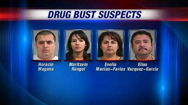Drug bust suspects winding river way 11.23.12
