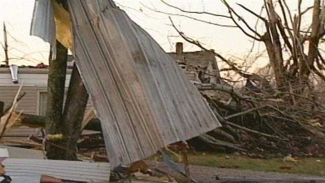 A southern Indiana man accused of scamming a victim of the Henryville tornado outbreak now faces more charges.