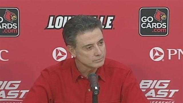 University of Louisville head coach Rick Pitino