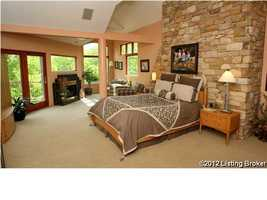 One of 6 bedrooms.