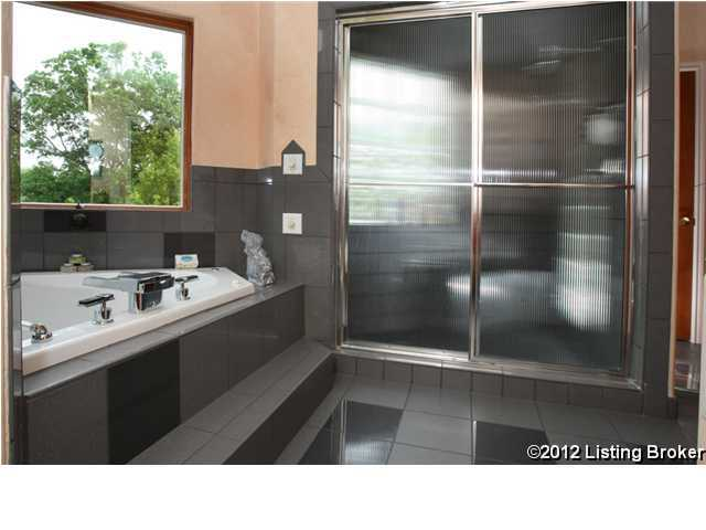 Another view of the bathroom. This is one of 9 bathrooms in the home.