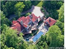 Living in Prospect, KY doesn't get much better than this beautiful $1.8 million mansion, which sprawls over 7.06 acres of beautiful terrain. For more information, visit Realtor.com