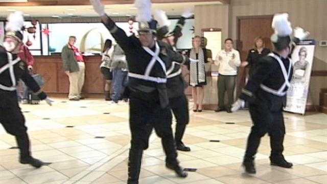 Dancing bellmen