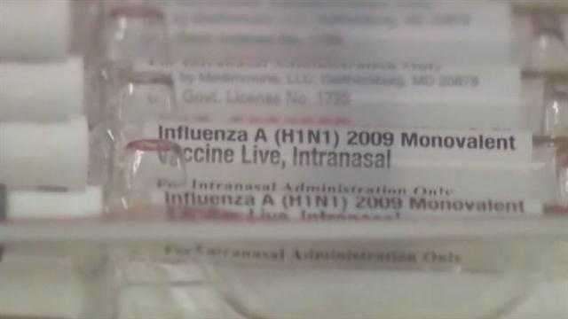 Health officials say the flu level in Kentucky has increased to widespread, and they are recommending vaccinations for everyone except infants younger than 6 months old.