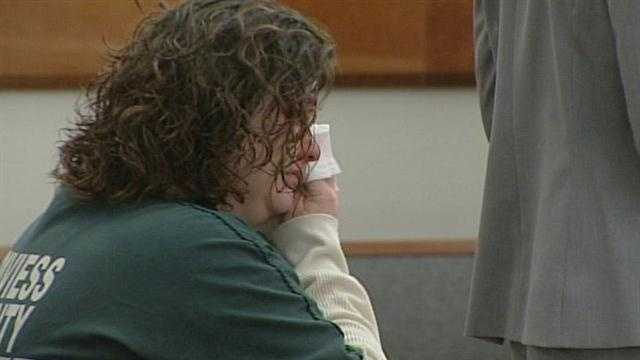 A woman who pleaded guilty to the murder of a Hardin County toddler learned her sentence Thursday.