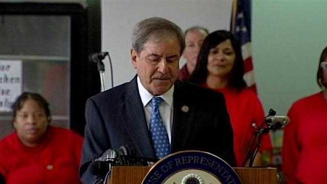 Congressman John Yarmuth had a lot to say about gun control Monday and the tragedy in Connecticut.