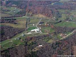 The farm is every bit of 299 acres of Louisville land. For more details on this beautiful property visit Realtor.com