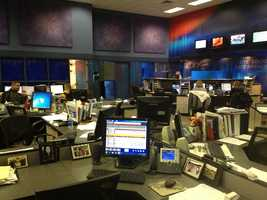 Another side view of the newsroom