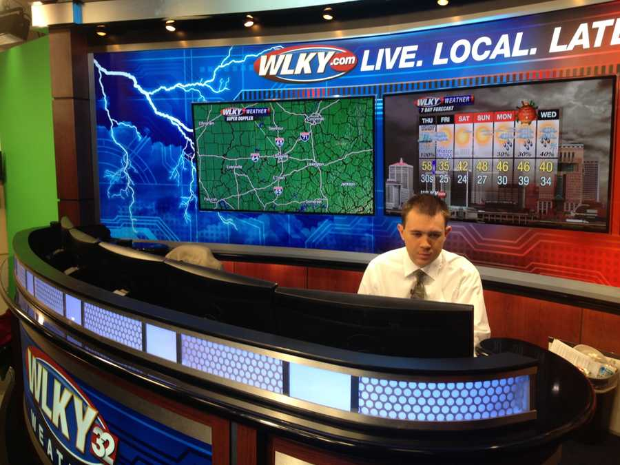 Looking over to the other weather desk. Hi, Jared Heil!