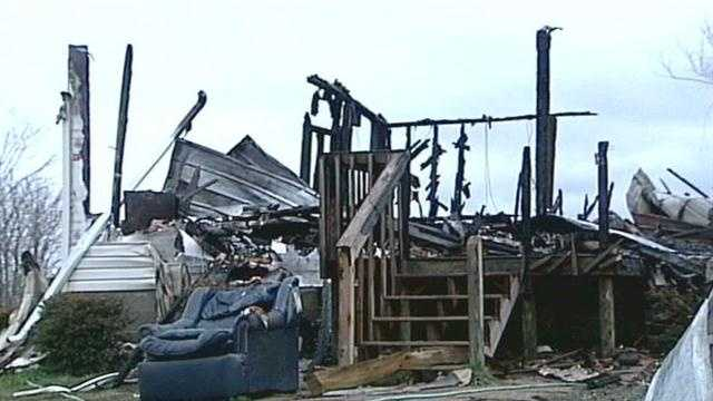A home in Carroll County catches fire twice in less than two days.