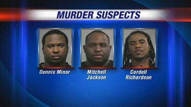Three men are charged with murder in connection with the 2011 death of a Louisville man.