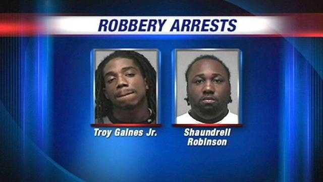 Robbery suspects arrested