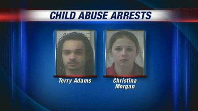 Police raid an Elizabethtown apartment and find a badly injured toddler surrounded by drugs.