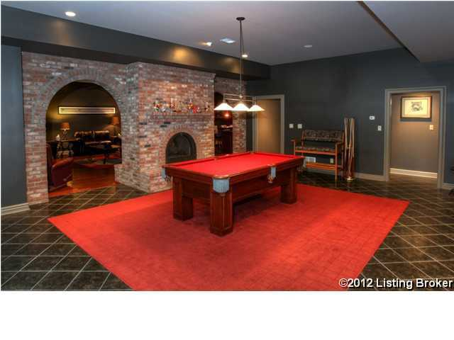 A game room.