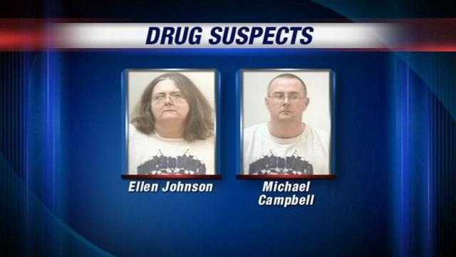 A mother and son are behind bars after an investigation into illegal drug activity at their Indiana home.
