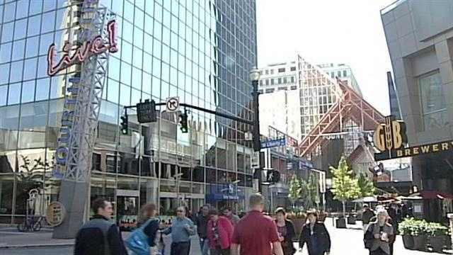 A coalition is demanding changes to Fourth Street Live's dress-code policy, claiming it's being used to discriminate against people of color.