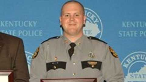 Kentucky State Police Trooper Anson Tribby