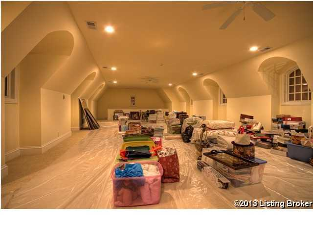 Attic for storage or whatever you wish
