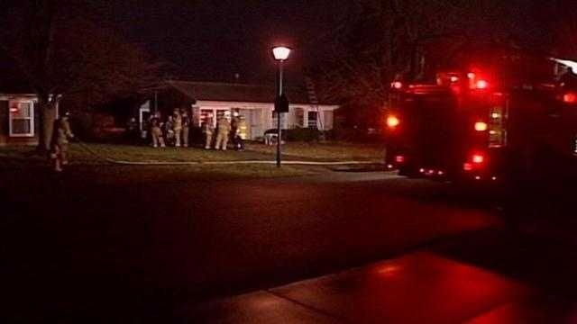 A fire investigation is underway in the Jeffersontown area.