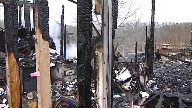 A Nelson County man barely escaped a fire that destroyed his home. Now, his family is left picking up the pieces as they question what caused the dangerous blaze.