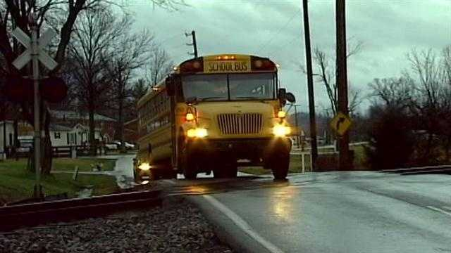 In Jefferson County, hundreds of school buses cross railroad tracks more than 3,000 times each and every school day, but according to the Kentucky agency required to report that, not one of those school buses makes any of those crossings.