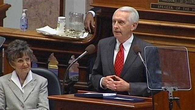 A call for action seemed to be the main message in Gov. Steve Beshear's State of the Commonwealth speech Wednesday night.