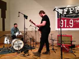 Discount Guns performed on WFPK's Live Lunch. Click here to check out the WFPK Live Lunch archives and upcoming schedule!Listen to Discount Guns