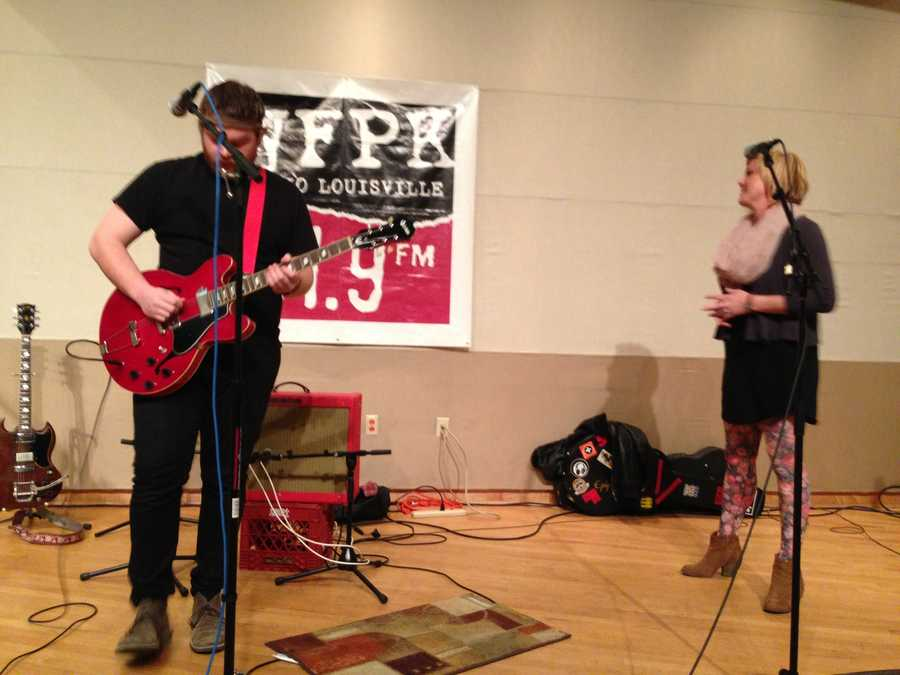 Discount Guns performed on WFPK's Live Lunch. Singer/songwriter Jess Langer is featured on the album and joined the band to lend vocals on a couple songs.Click here to check out the WFPK Live Lunch archives and upcoming schedule!Listen to Discount Guns