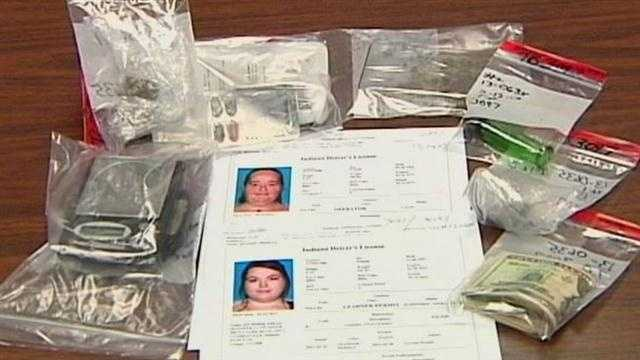 A Clarksville mother, daughter and son-in-law are behind bars after police said they were selling drugs out of their home.