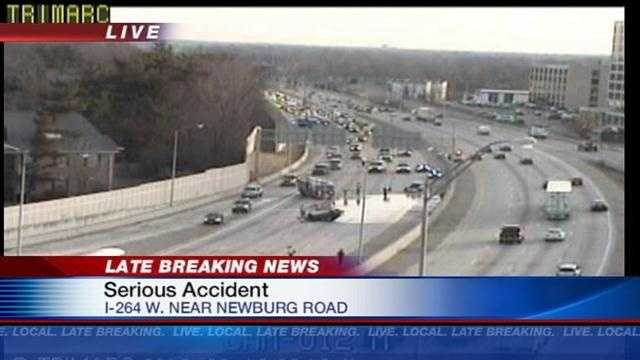 Watterson West accident near Newburg Road