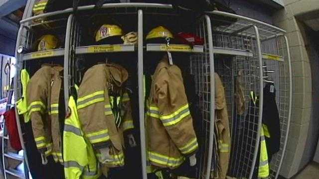 WLKY Investigates: Local firefighters packing heat