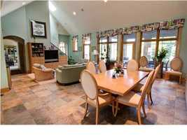 Casual dining and family room.