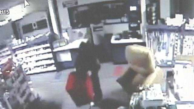 Frankfort police are investigating a burglary at a pharmacy.