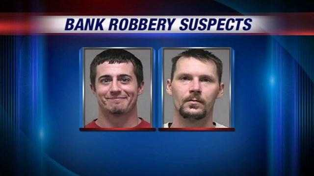 Police: Men robbed banks to support heroin habit