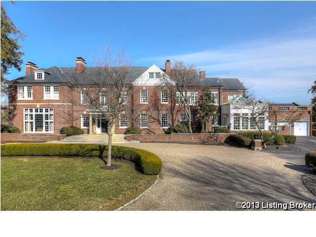Over five acres of luxury and privacy on this beautiful property listed on Relator.com for $4.95 million.