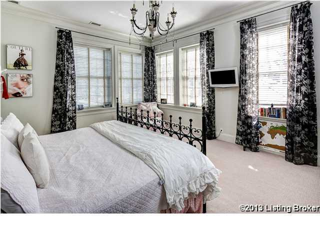 One of the four other bedrooms.