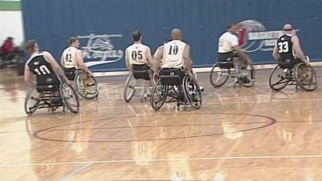 'Hoop It Up' is a four-week curriculum aimed at raising awareness for the National Wheelchair Basketball Tournament coming to Louisville in April.