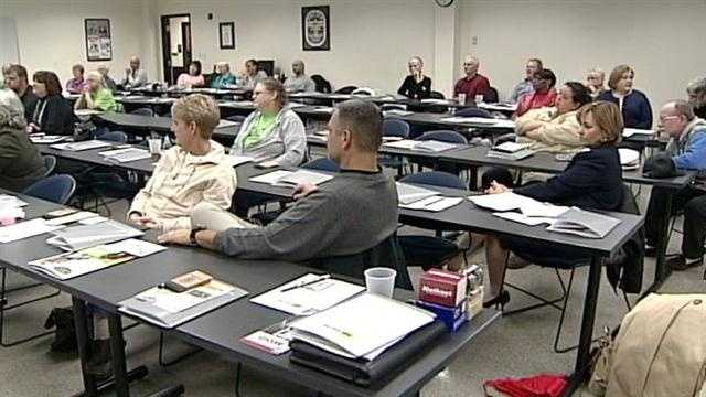 Louisville Metro Police held a training session for block watch leaders across the city Tuesday night.
