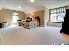 Large guest bedroom.