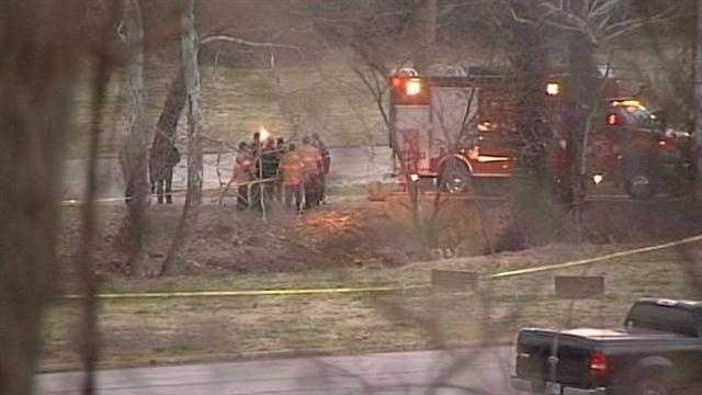 Police are investigating after three bodies were found in a southern Indiana creek Wednesday evening.