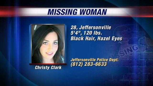 Police are searching for Christy Clark, who went missing from a Jeffersonville bar.