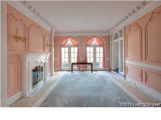 Formal area, that offers just as much charm as it does privacy.