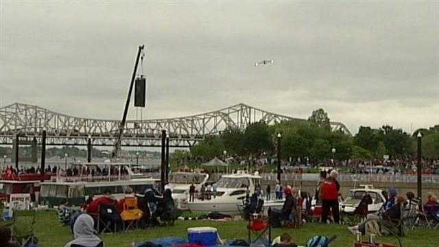 The military air show for Thunder Over Louisville may not be in the program this year, but all is not lost for fans of flight.