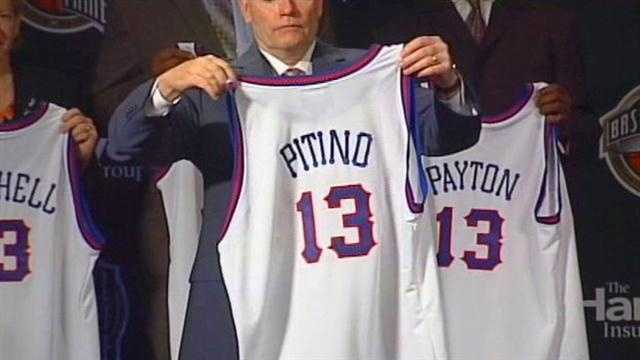 Rick Pitino inducted into Hall of Fame