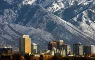 6.) Salt Lake City