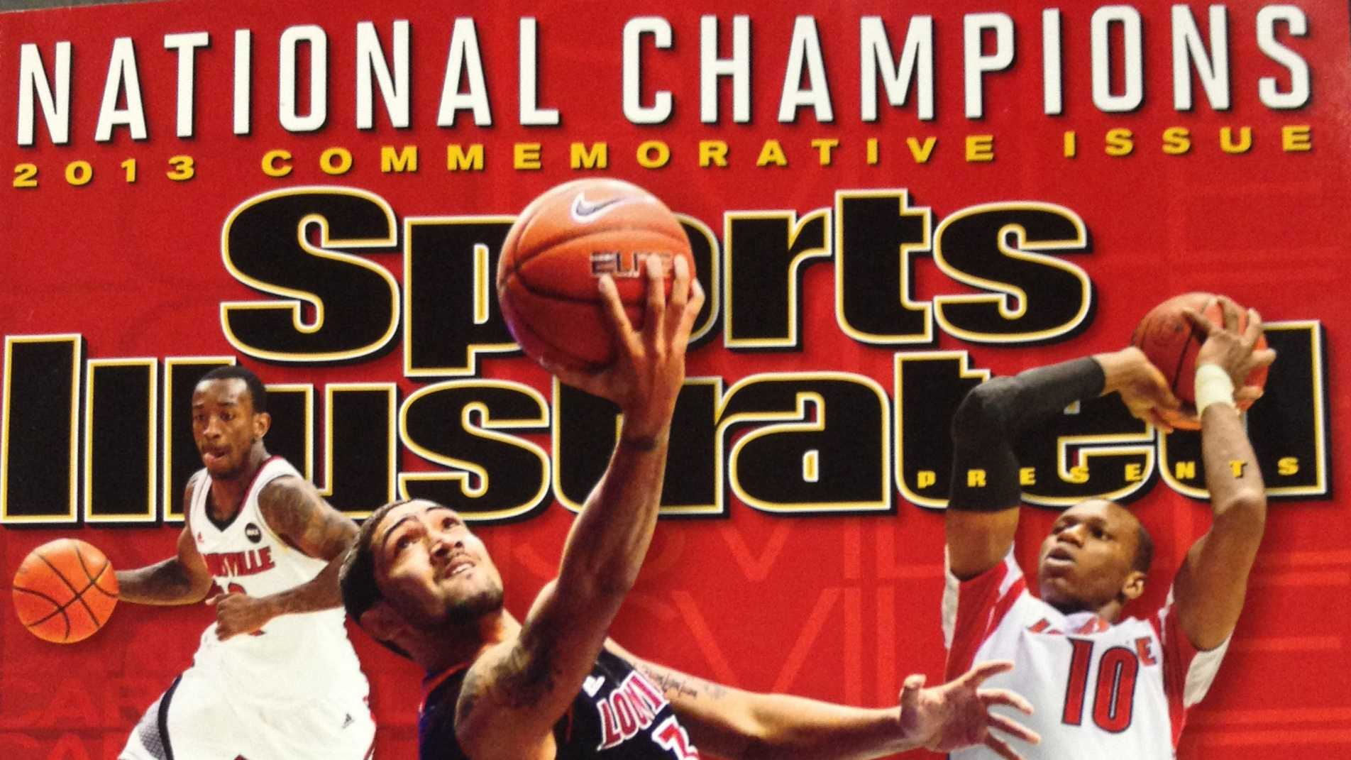 """Sports Illustrated"" has released its special collector's issue commemorating the Louisville Cardinals' third men's basketball championship."