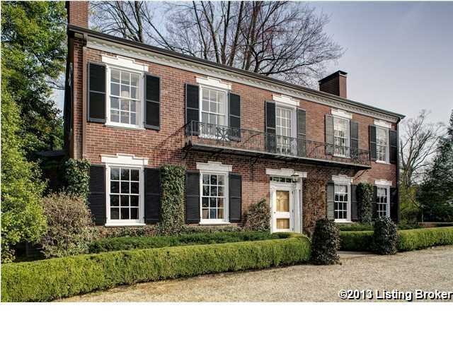 Take a peek of this 4 bedroom, 4 bathroom estate filled with Kentucky charm.