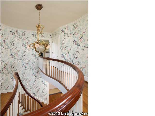 Alternate view of the grand staircase from above.