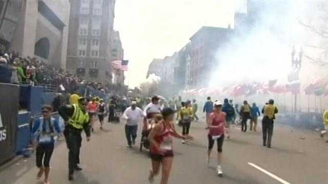 Ever since the Boston bombing story broke, there have been firsthand accounts of the blasts from runners who live right in Louisville and southern Indiana who were in the marathon.