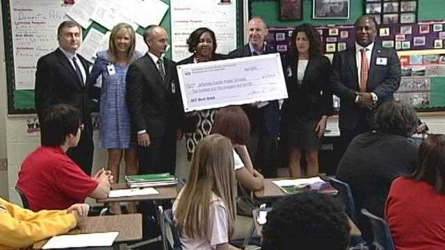 Jefferson County Public Schools is receiving a quarter-million-dollar grant to help more students go to college.